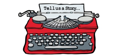 Tell us a story typewriter