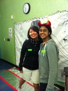 happy halloween 2 - Lynn and Sree