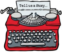 Typewriter - tell us a story