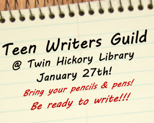 Teen Scene image block- Teen Writers Guild Jan 2015