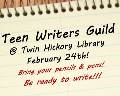 Teen Scene image block - Teen Writers Guild Feb 2015