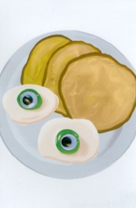 """Green Eggs and Googly Eyes"" by Sara B., Dumbarton"