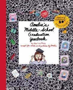 Amelias Middle School Graduation Yearbook