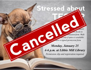 Paws to Read - cancelled