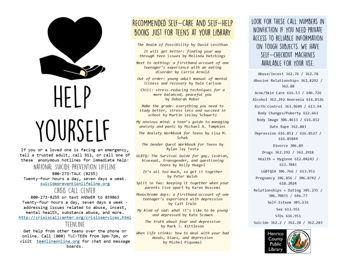 Self Help Resources for Teens