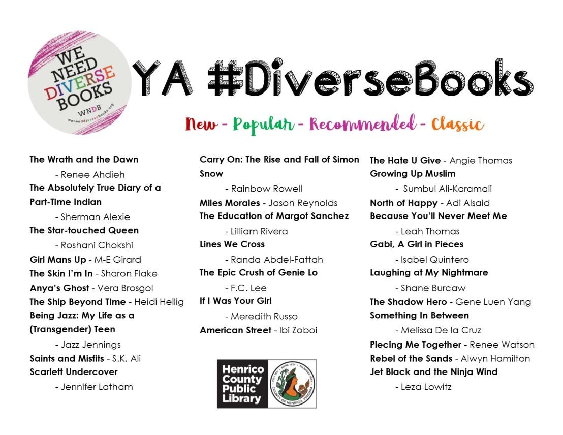 YA Diverse Books