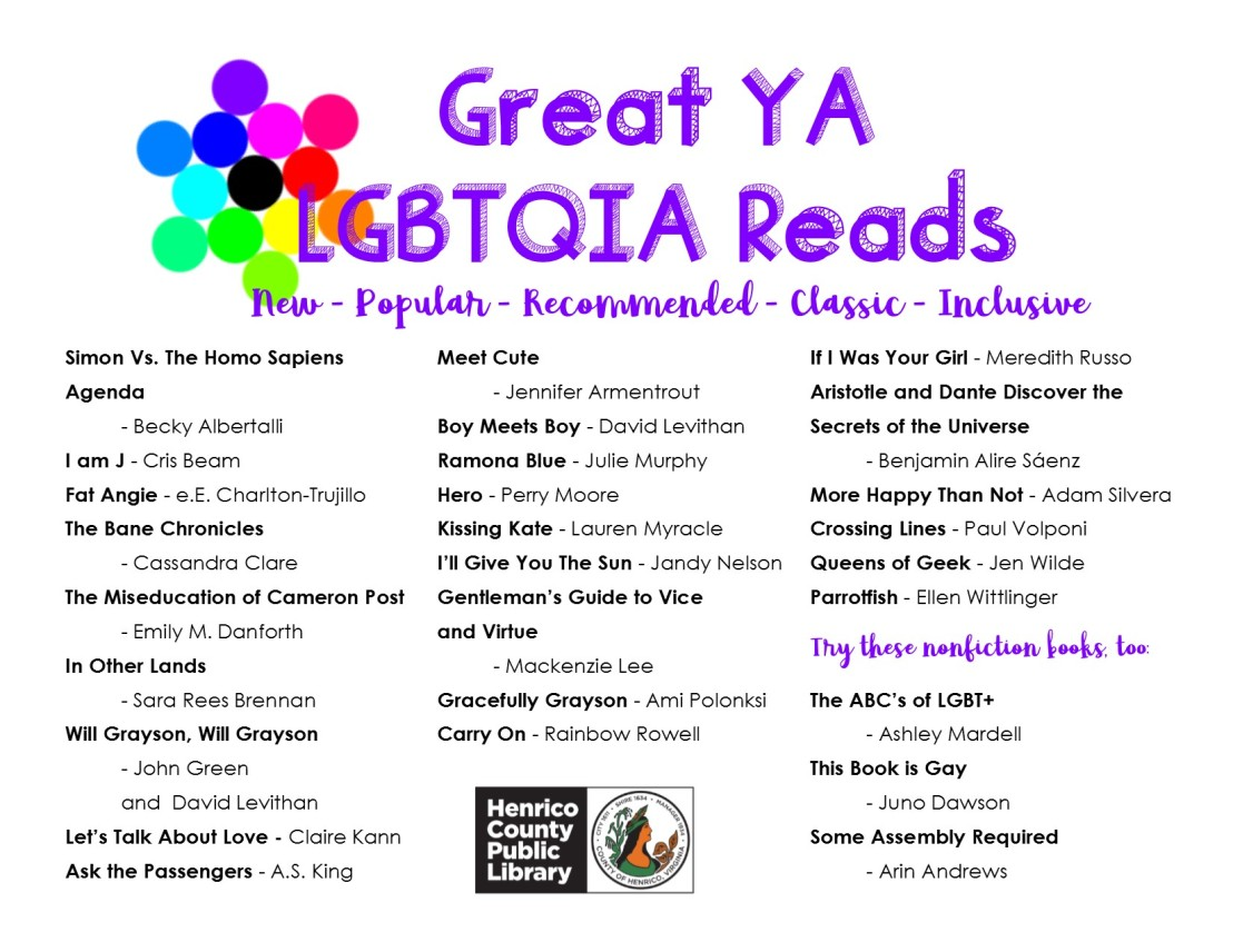 Great LGBTQIA Reads