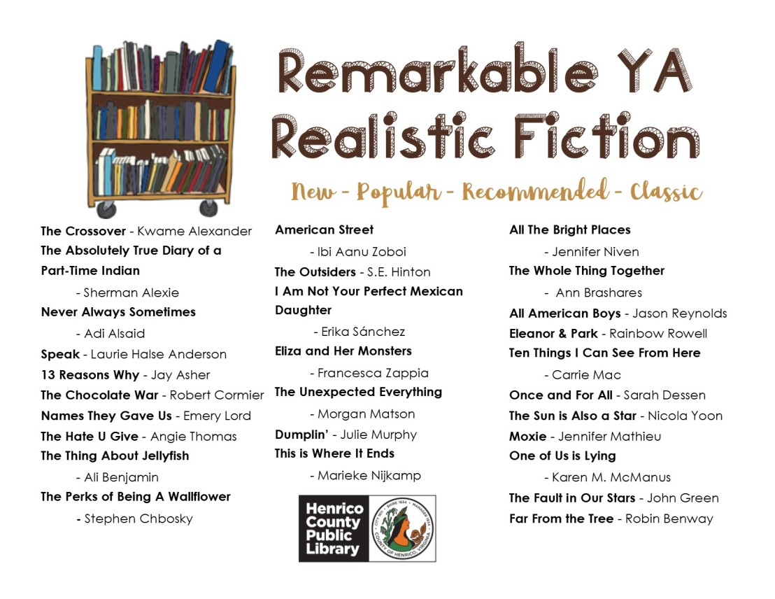 Remarkable YA Realistic Fiction