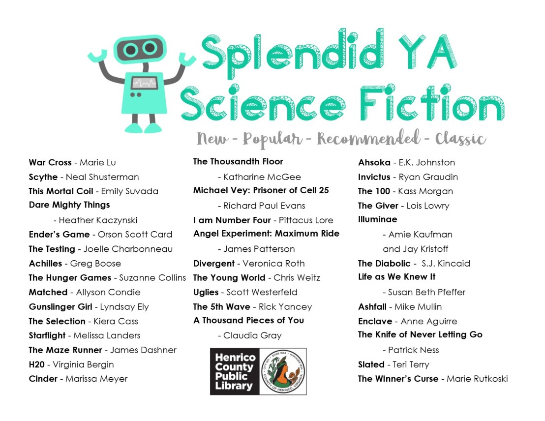 Splendid YA Science Fiction